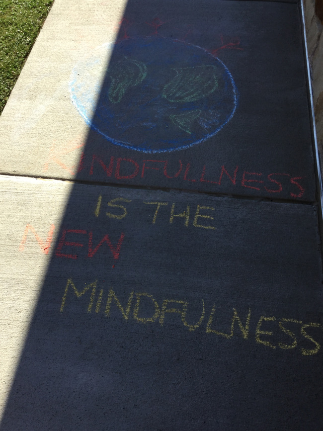 Kind Words Written in Chalk