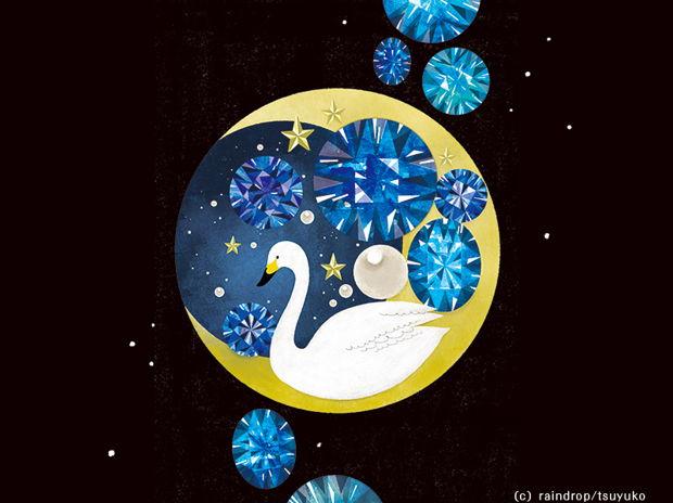 夜空のブローチ