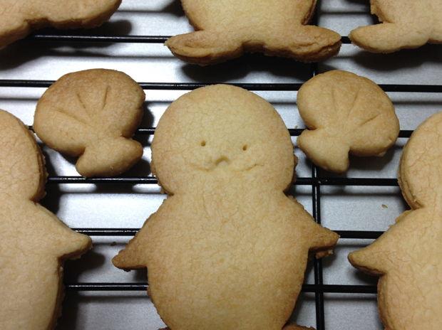 「ラッコのらー」オリジナルクッキー