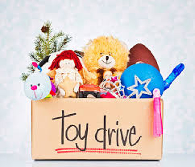 Gently Used and New Toy Drive Begins Monday November 26th 2018
