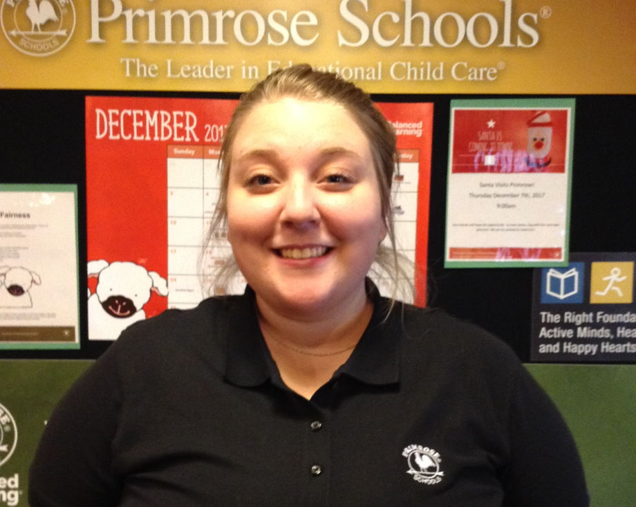 Ms. Ashley Carter , Older Infant Teacher