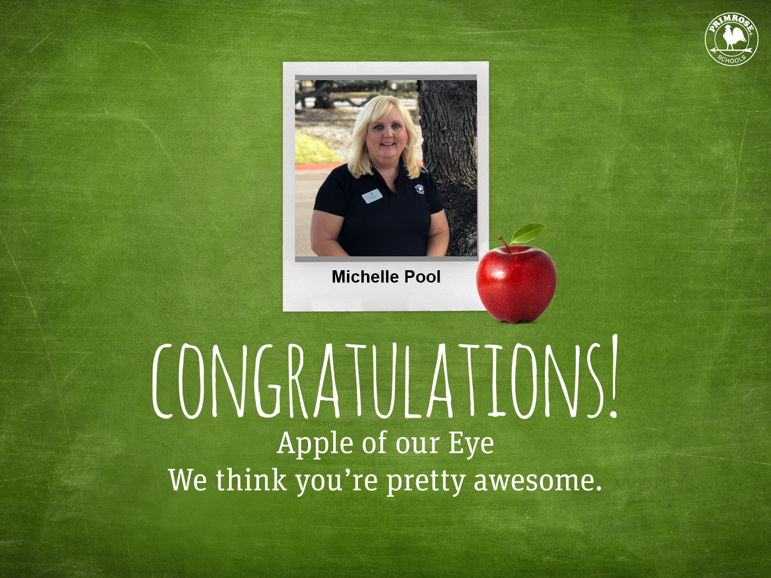 Michelle Pool Apple of our Eye