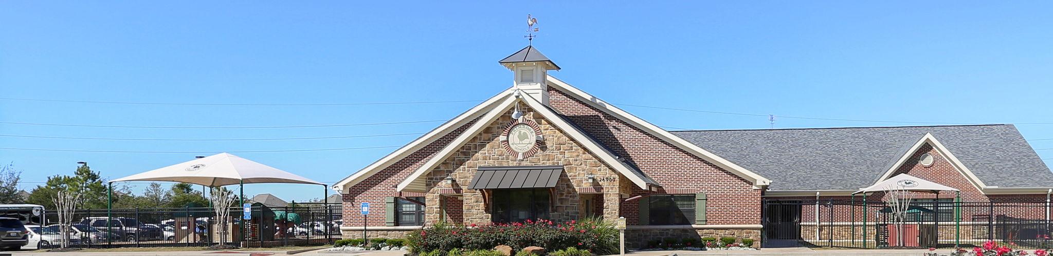 Exterior of a Primrose School of West Cinco Ranch