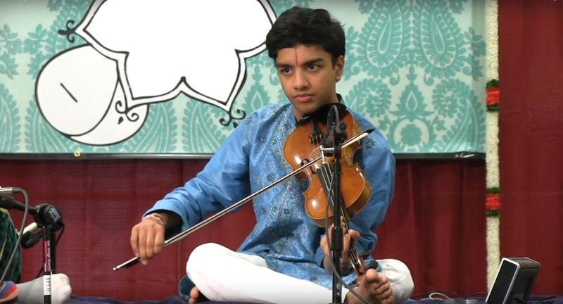 SPICMACAY at UVA Presents: Evening of Indian Classical Music with Kamalakiran Vinjamuri