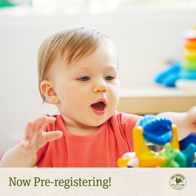 Now Pre-Registering Younger Child