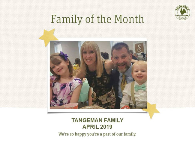 tangeman family april 2019 family of the month