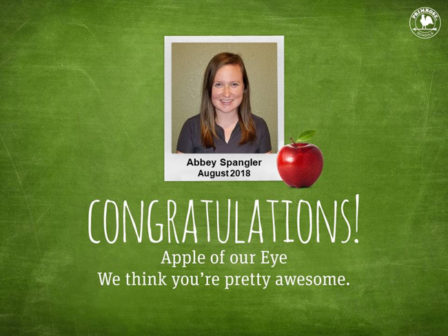 abbey spangler august apple of our eye