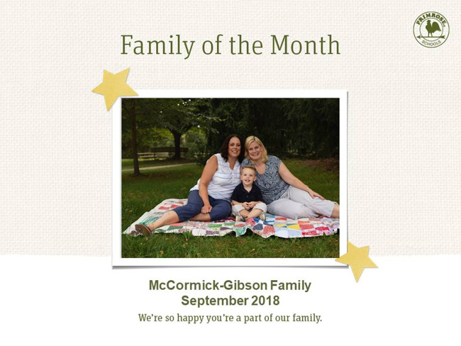 mccormick gibson family of the month september