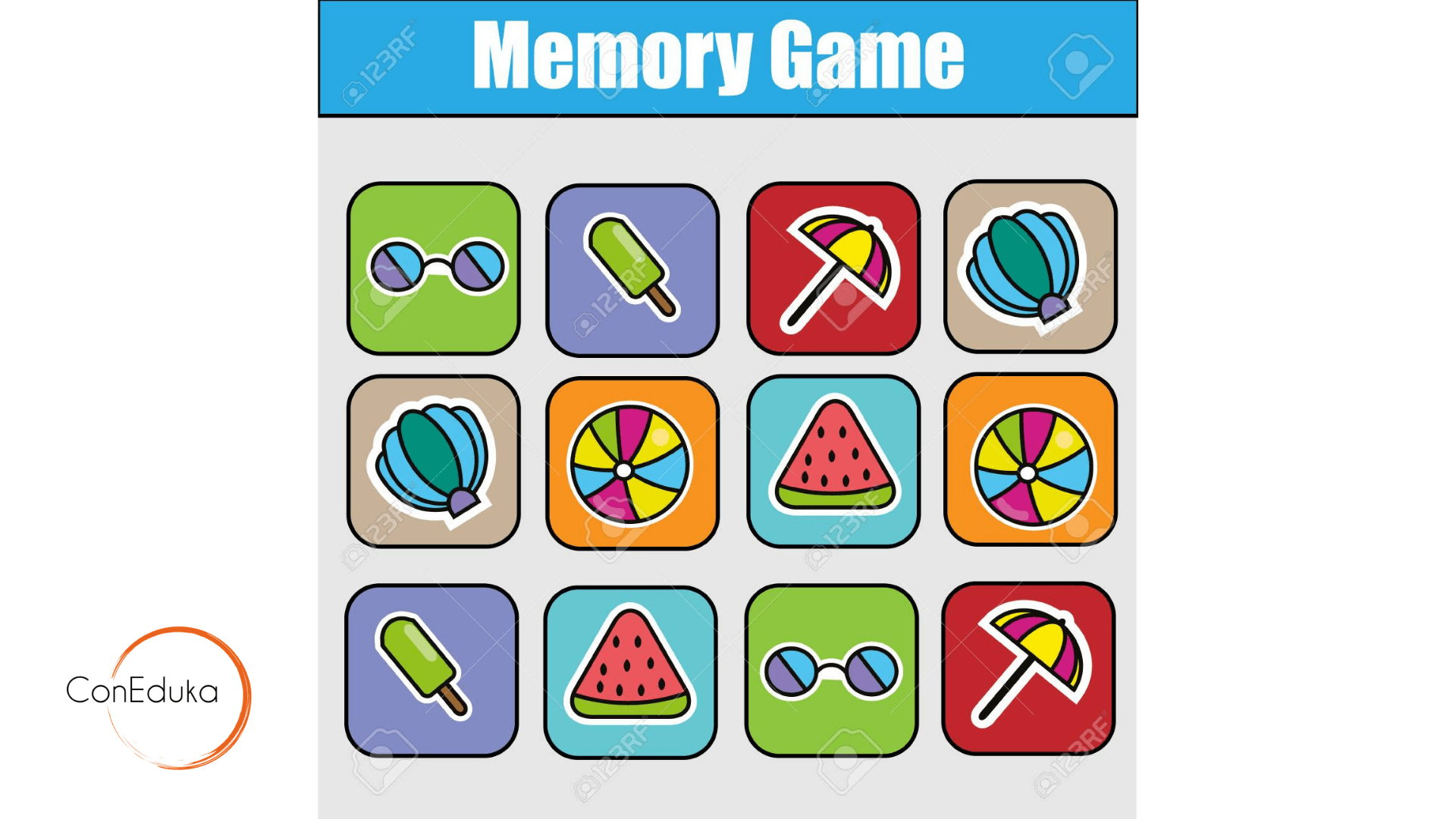 memory infantil