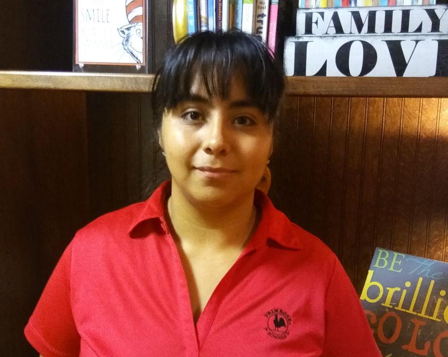 Ms. Erika Rojas, Toddler Teacher