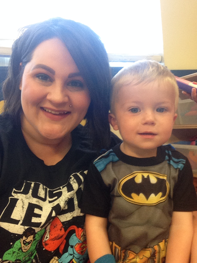 Students and teachers alike love dressing up for special days like National Superhero Day!