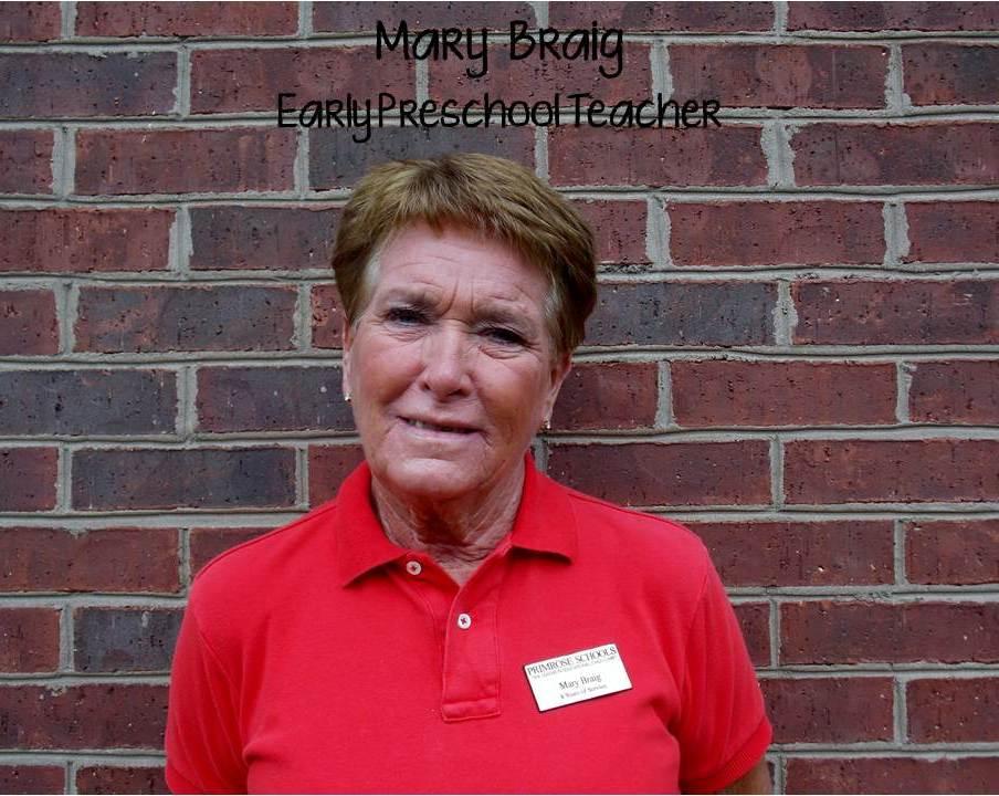 Mrs. Mary Braig , Preschool Support Teacher