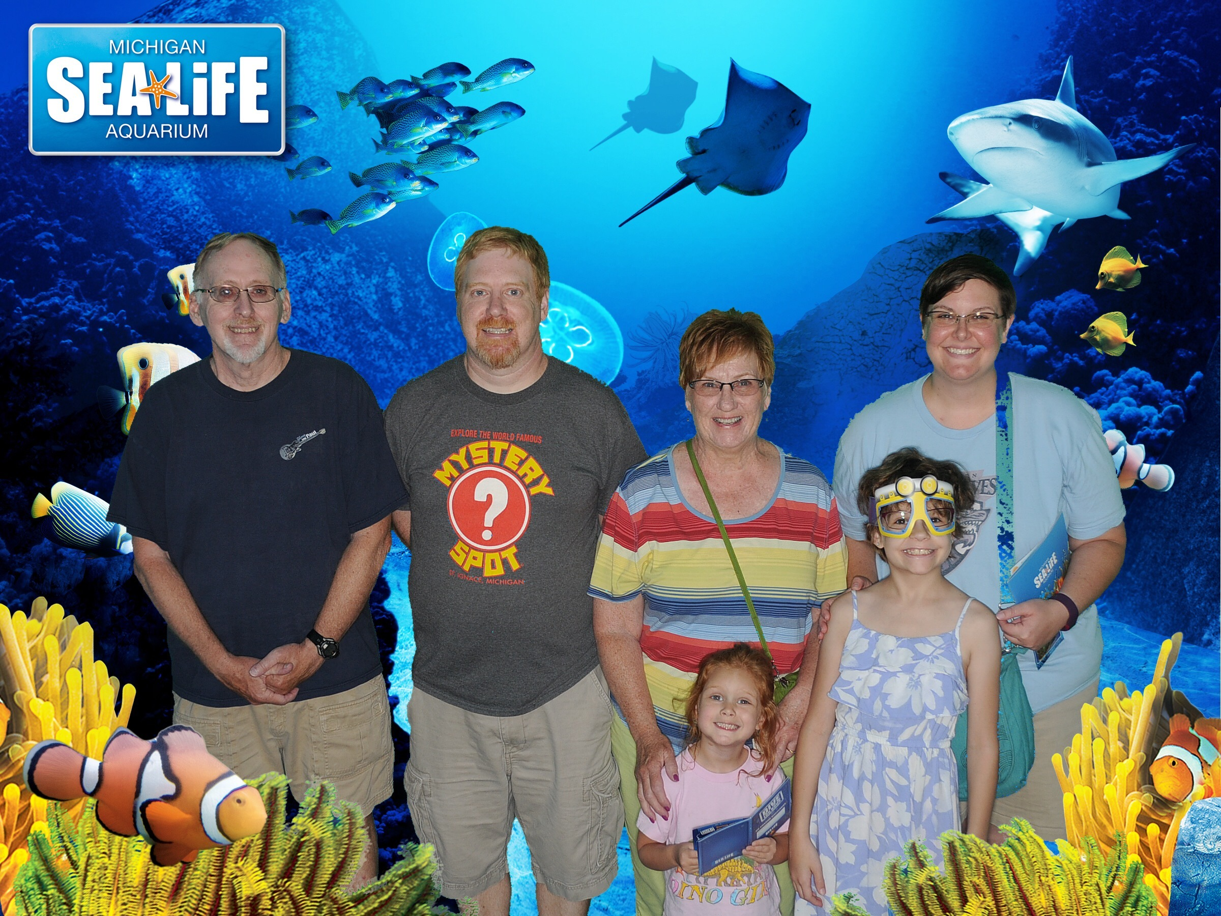 The Conaton family, family of the month for September