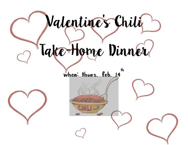 Valentine's Chili Take-Home Dinner