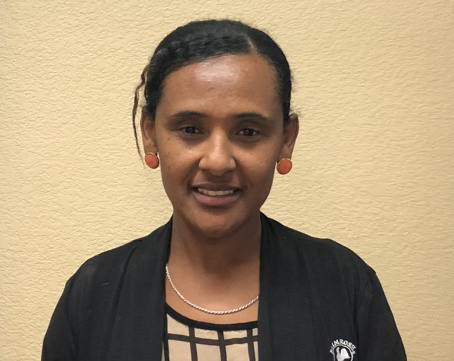 Ms. Almaz Wondim , Suport Teacher