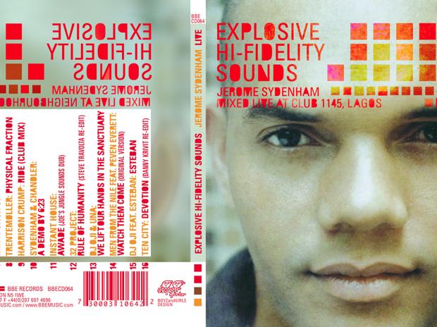 Jerom Sydenham Record Cover Deisgn