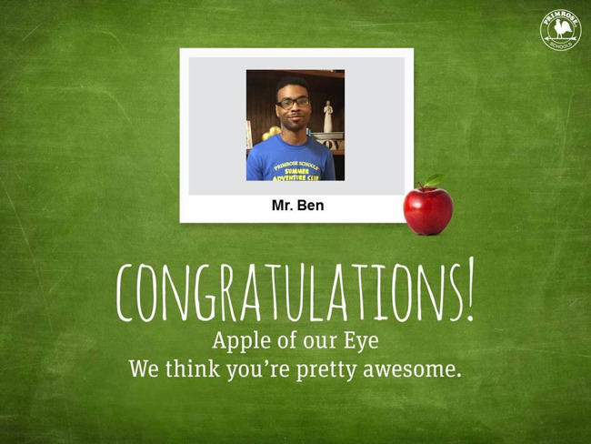 teacher apple staff employee best