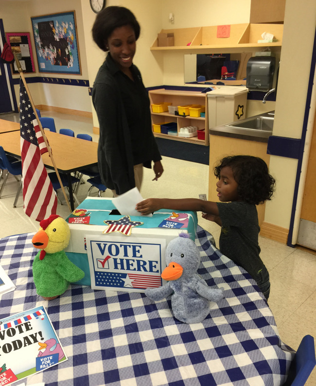 Election day at Summerwood