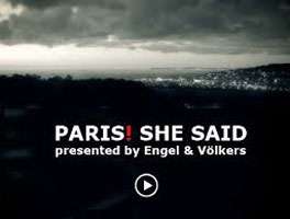 Paris she said!