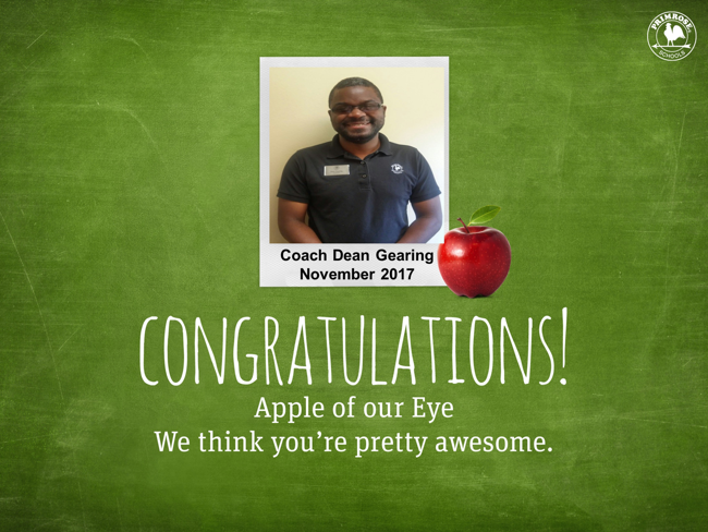 Celebrate with the Apple of Our Eye