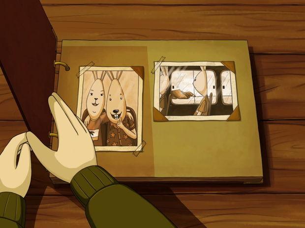 兔さんの追憶 Mr. Rabbit's memory