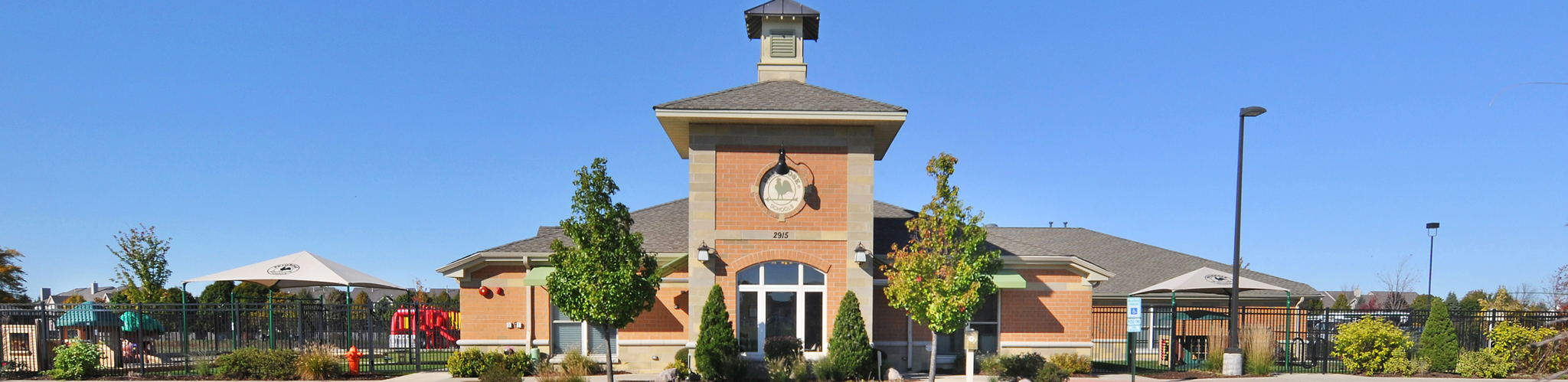 Exterior of a Primrose School at Naperville Crossings