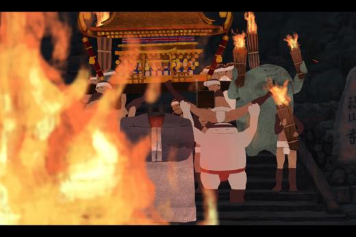 くらまの火祭 / the Fire Celebration at Kurama
