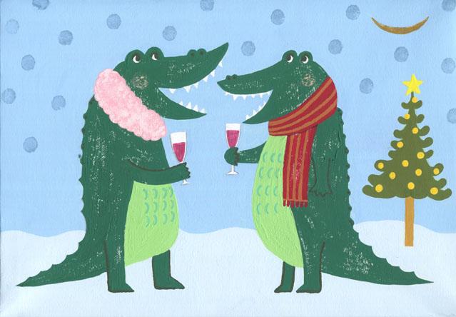 crocodile*christmas
