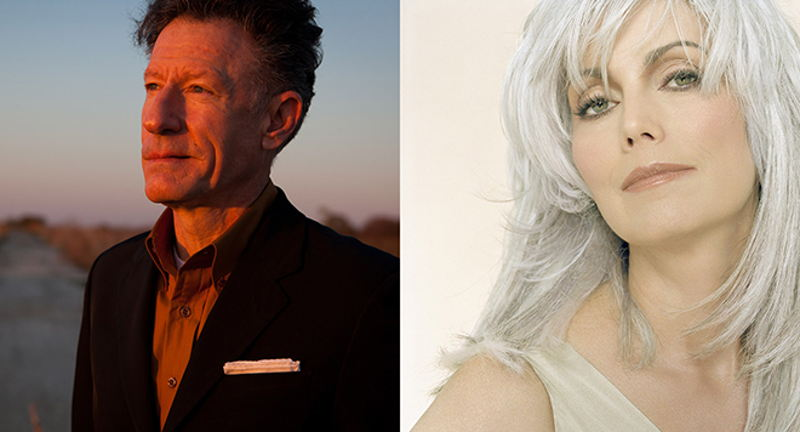 Lyle Lovett & His Large Band and Emmylou Harris