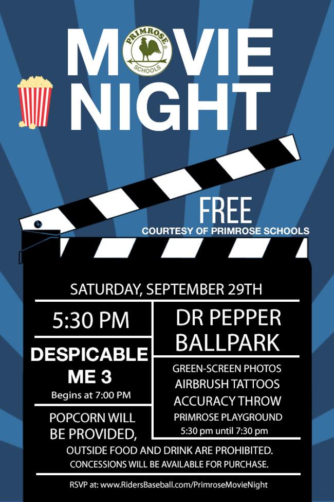 primrose movie night
