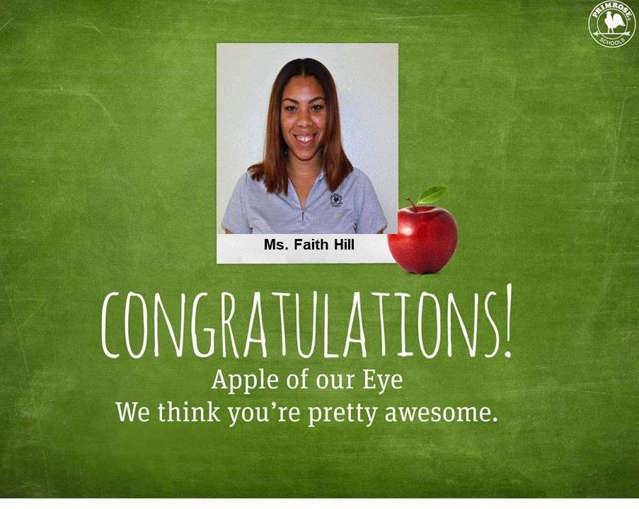 Ms. Faith Hill , Early Preschool Teacher