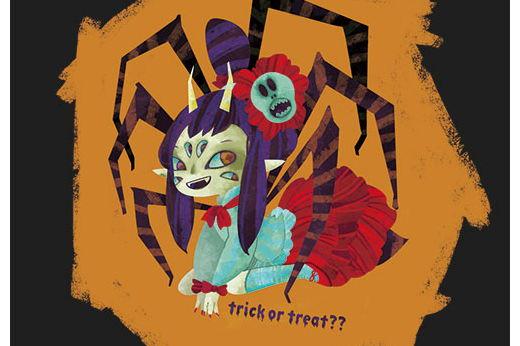 ハロウィンの女郎蜘蛛ちゃん