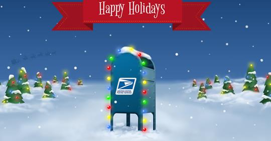 Letters to Santa Via USPS!
