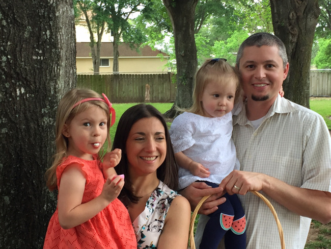 The Clark family, family of the month for May