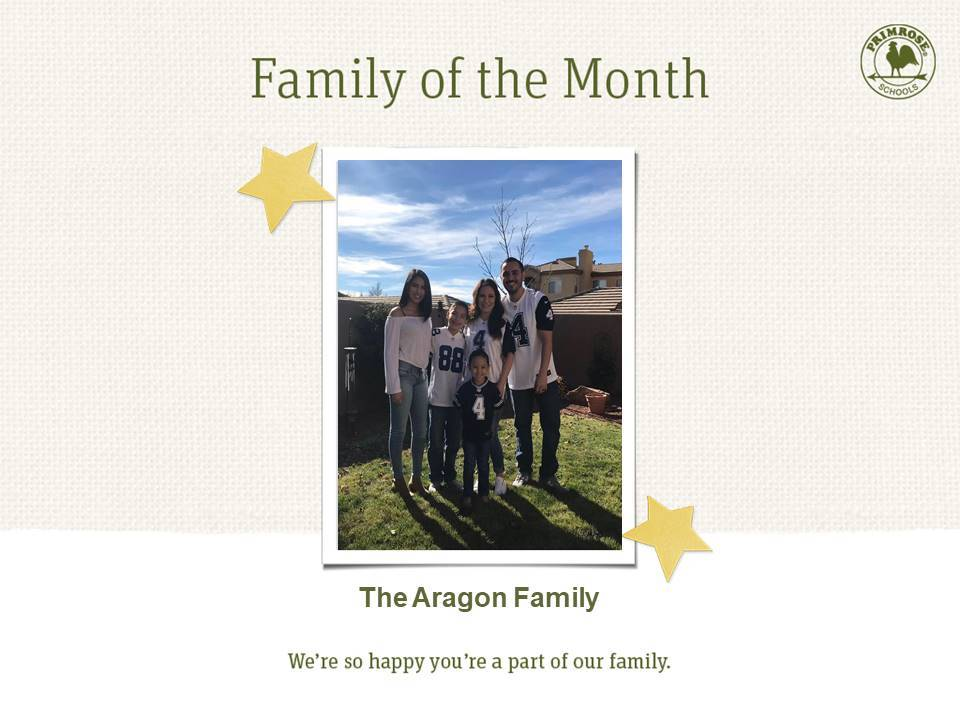 Family of the month may family of five cowboys football jerseys trees