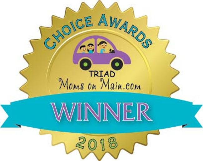 Voted Favorite Child Care in Greensboro!