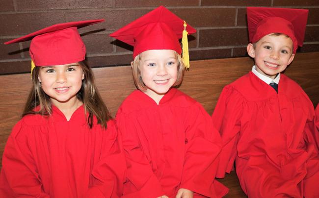 Happy Primrose student on their graduation day