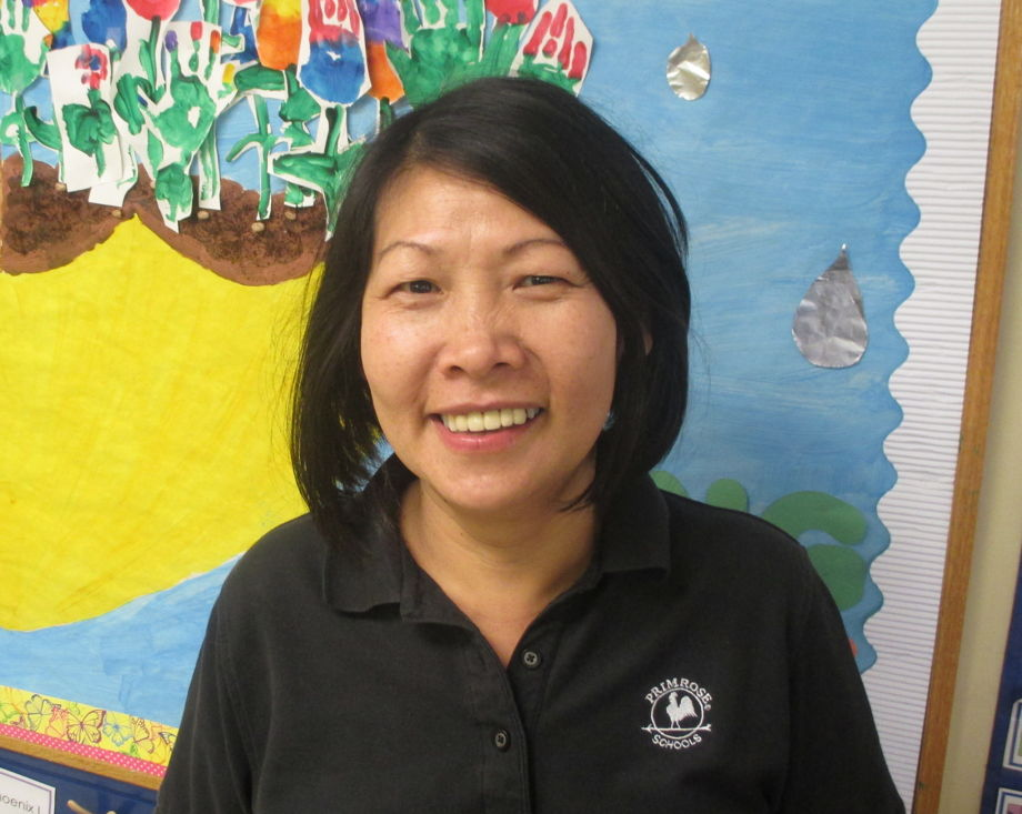 Mrs. Katina Phan , 15 years experience in early childhood education,11 years with Primrose