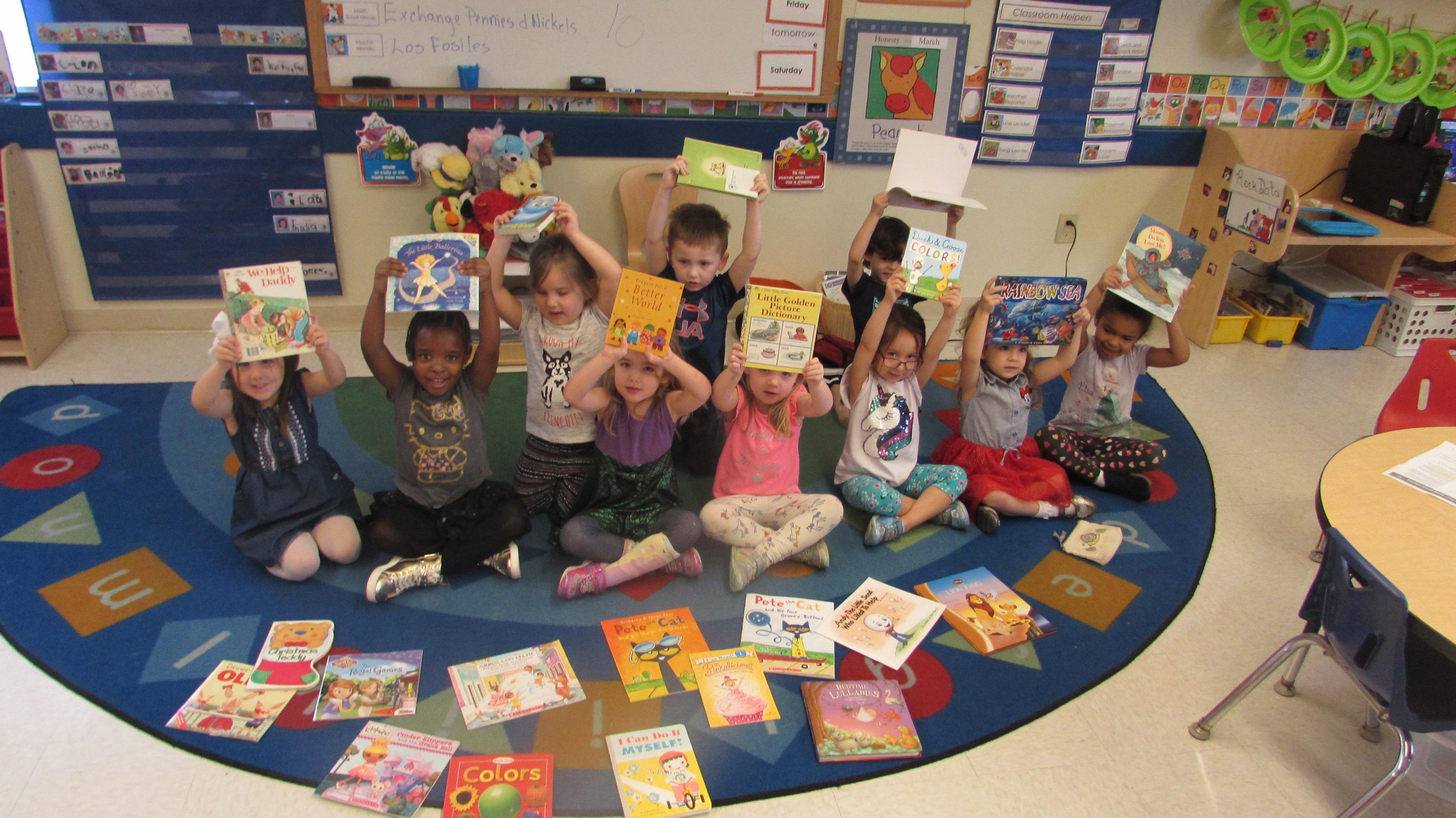 Primrose School of Clear Lake Educational Child Care Donates Books in Celebration of Read Across America