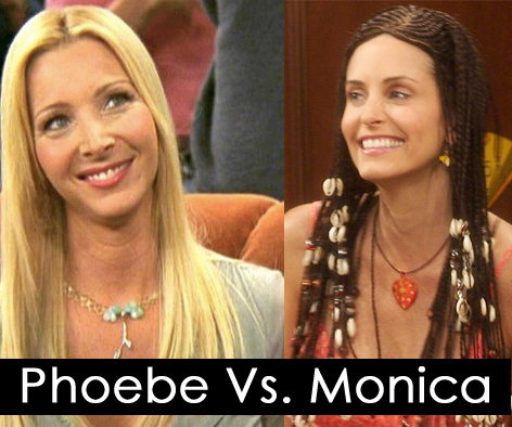 who's a better roommate phoebe or monica