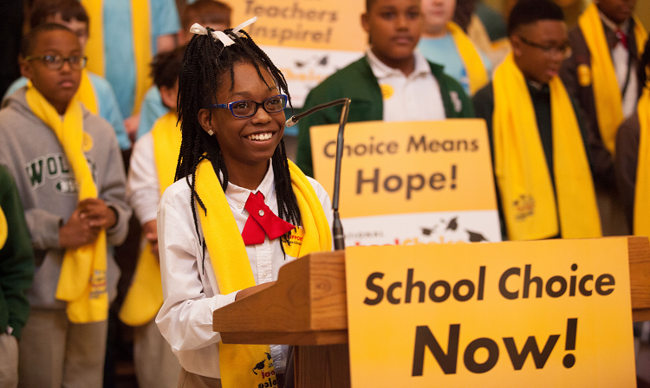 Students celebrate the power of school choice