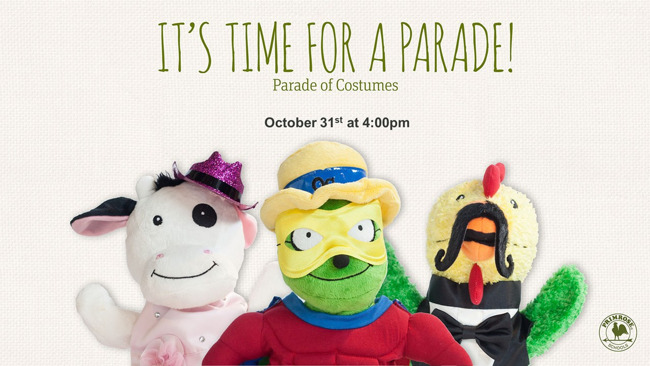 Parade of Costumes!