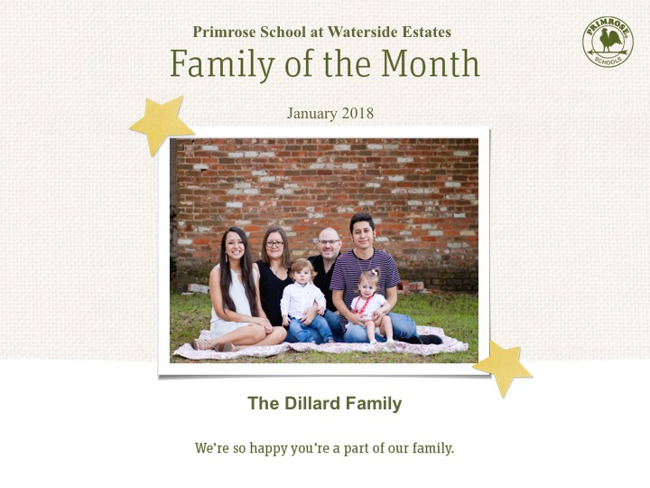 January Family of the Month