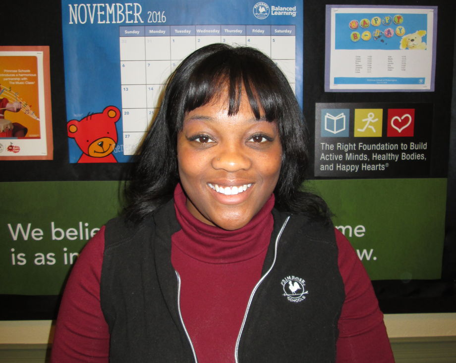 Ms. Shakera Readous, Toddler Teacher