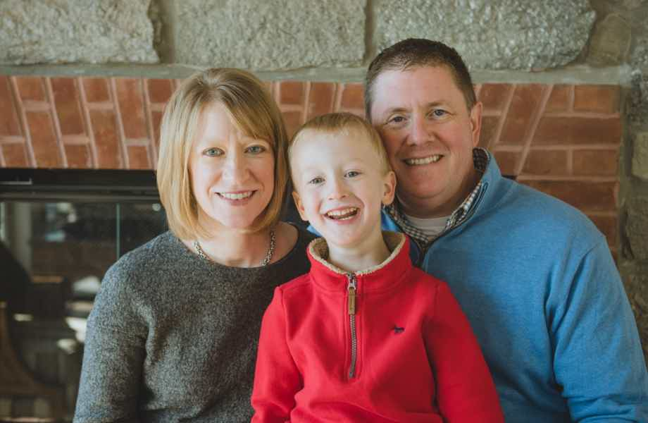 Franchise Owners of Primrose School Allison P. Wilson-Maher and John F. Maher with their son