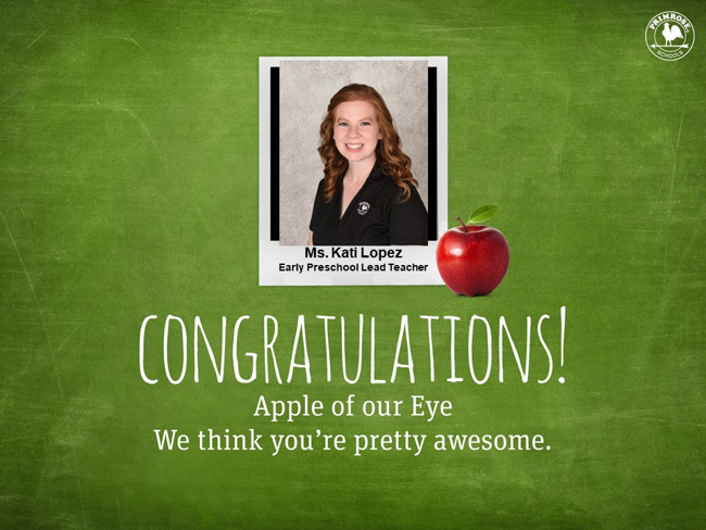 K. Lopez Apple of Our Eye
