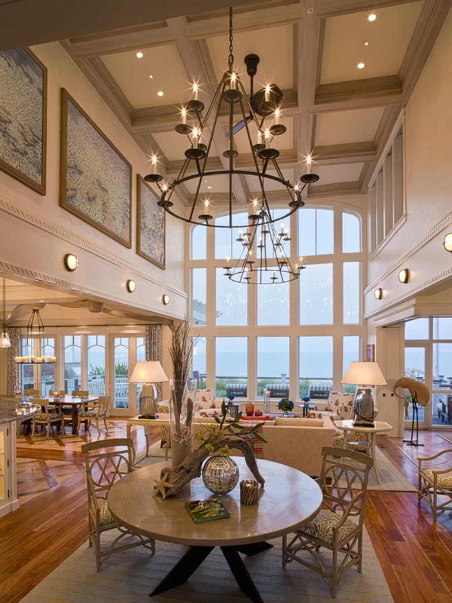 Дизайн высоких потолков фото
