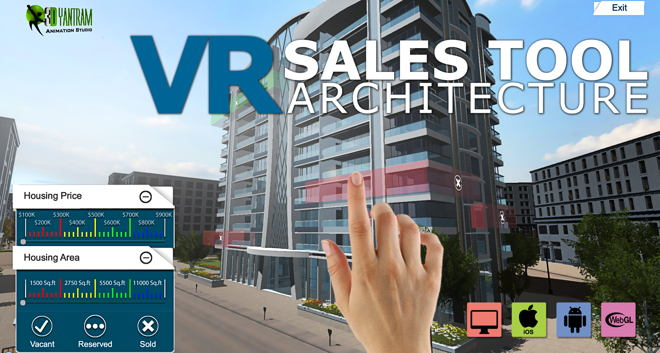 Virtual Reality – Interactive Sales Tool