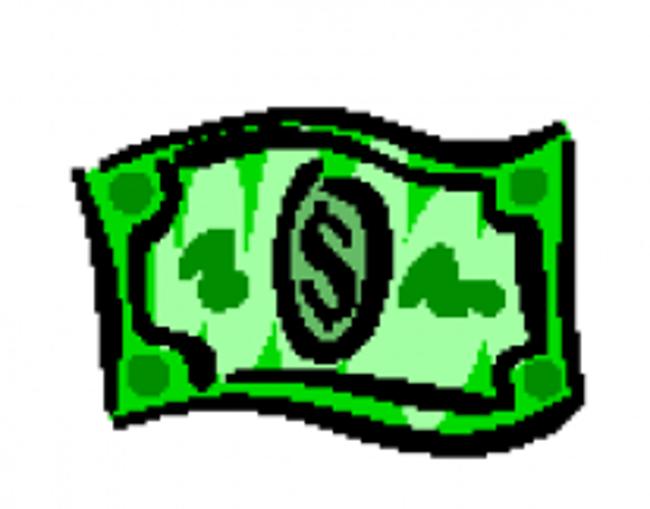 Dollar bill graphic