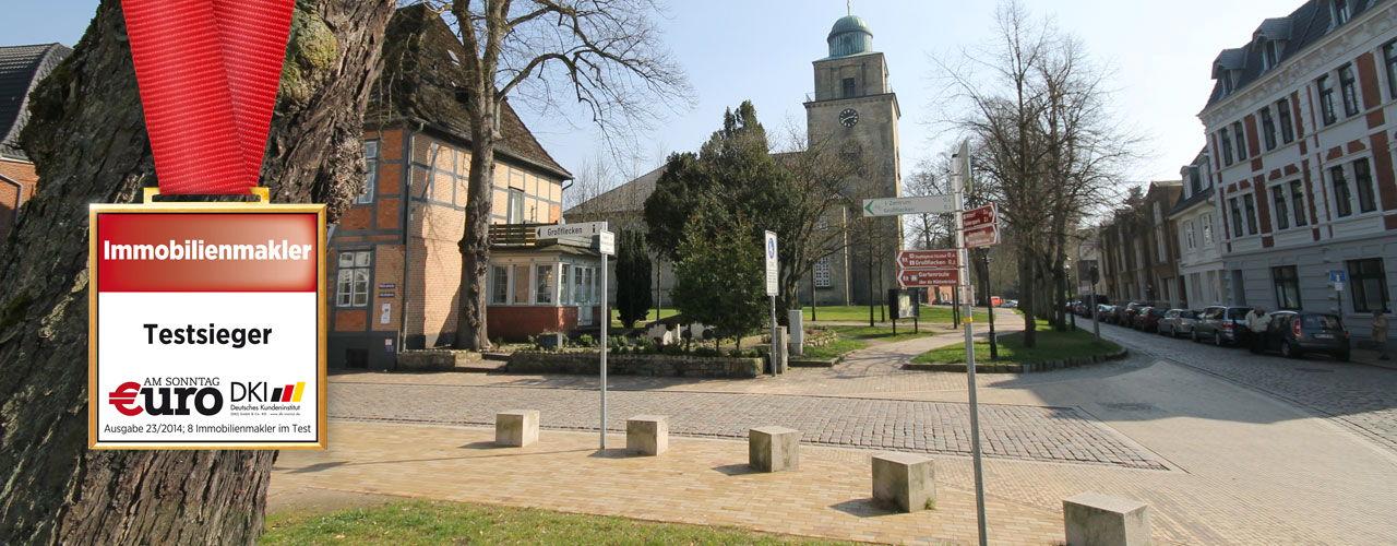 Makler für Villa, Haus Wohnung und Grundstück in Neumünster